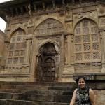 At the Champaner-Pavagadh in Gujarat